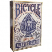 Карты Bicycle 1900 Vintage (красные) Ellusionist