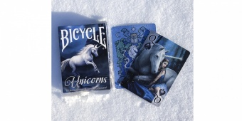 Карты Bicycle Anne Stokes Единорог