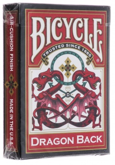 Карты Bicycle Dragon Red