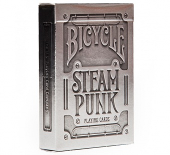 Карты Bicycle Silver Steampunk