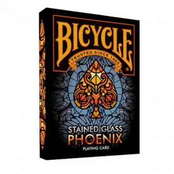 Карты Bicycle Stained Glass Phoenix